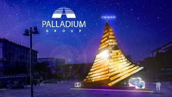Palladium Group takes part in the Christmas celebrations with the OPPO XMAS TREE project